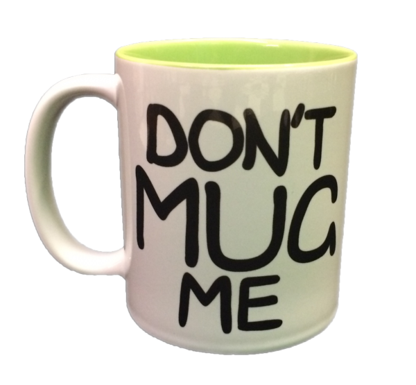 EddsWorld Don't Mug Me Mug